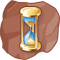 Gold Hourglass
